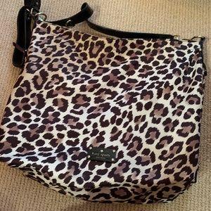 Kate Spade Leopard Print Copa Cabana Bag